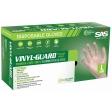 SAS - 6509-20 - Vinyl-Guard Disposable Gloves, Powder-Free, X Large - 100/Pack