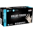 SAS - 6591 - Value-Touch Powdered Latex Gloves, Small - 100/Pack
