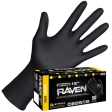SAS - 66519-01 - Raven Powder-Free Nitrile Gloves, Large - 50/Pack