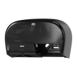 565528 - Tork/Essity High Capacity Bath Tissue Roll Dispenser for OptiCore, Black
