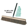 S.M. Arnold - 92-212 - Soft Sweep 24In. Push Broom Head and Handle