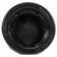 Trucklite - 10702 - Closed Back Wide Groove Black PVC