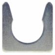 Trucklite - 97913 - Straight Mold Harness Clip Silver Steel 1.5 in.