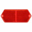Trucklite - 98001R - Oval Red Reflector