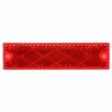 Trucklite - 98003R - Rectangle Red Reflector