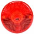 Trucklite - 99090R - Round Red Polycarbonate