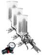 Wilmar Performance Tool - M707 - 3-Piece Production Spray Gun Set