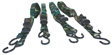 Wilmar Performance Tool - W1440 - 4pc Ratcheting Tie Down Set