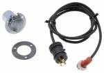 ZeroStart - 860-2948 - Power Cord, Weatherproof, 120V 15A, 10' (3m) with zinc plated, round 3 hole flange receptacle